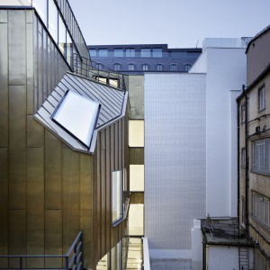 Jansen Faceted Steel Curtain Wall Tabernacle Street
